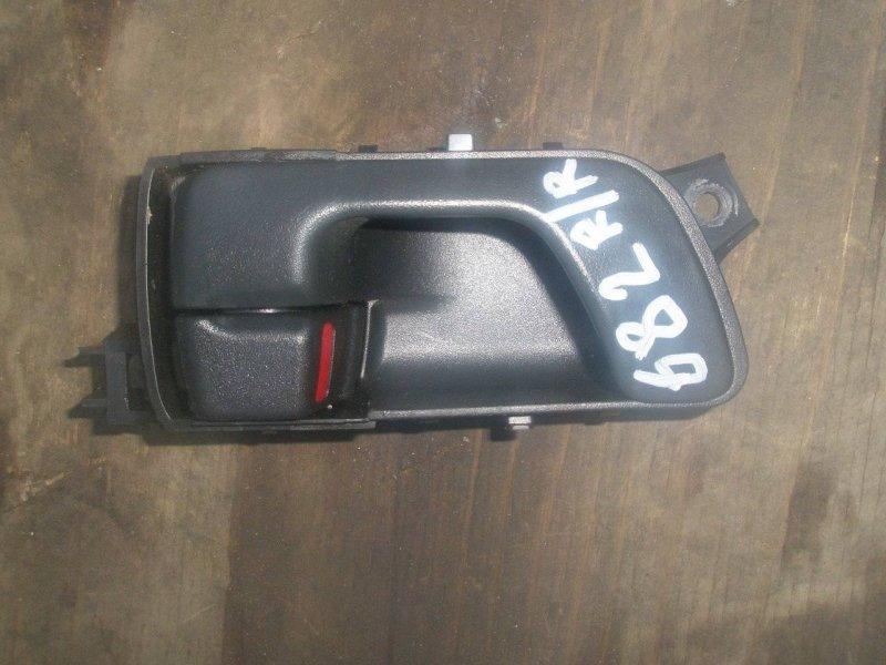 Ручка двери Mitsubishi Montero V63W 4D56 задняя правая (б/у)