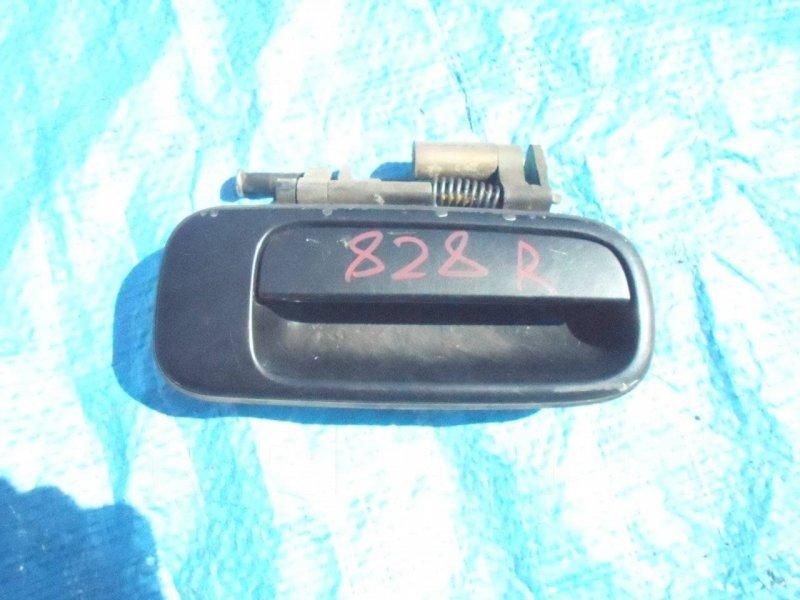 Ручка двери Toyota Chaser GX100 1GFE задняя правая (б/у)