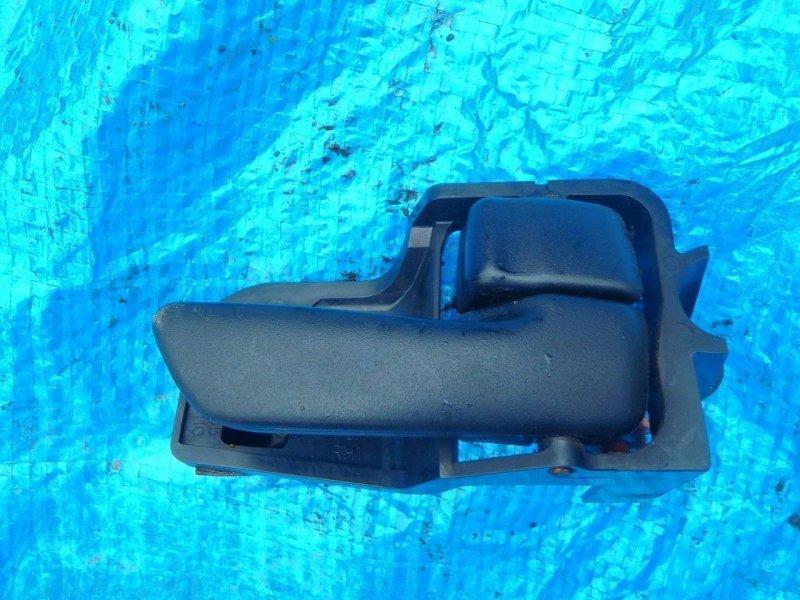 Ручка двери внутренняя Toyota Caldina CT190 2C передняя правая (б/у)
