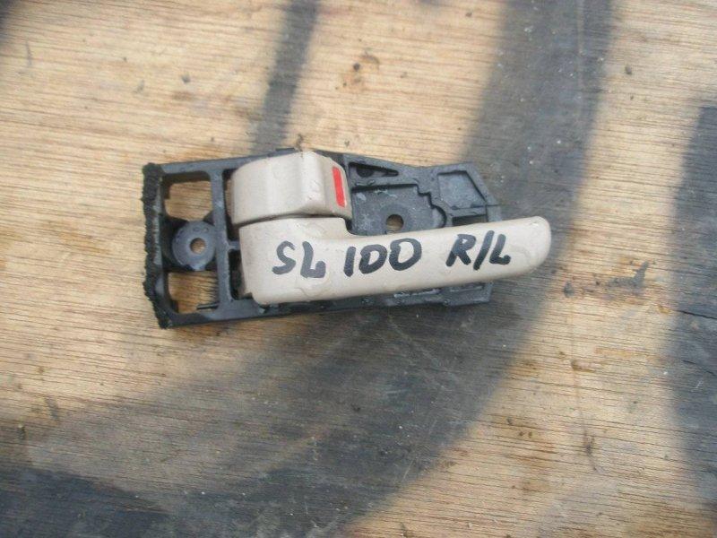 Ручка двери Toyota Land Cruiser HDJ100 1HDFT задняя левая (б/у)