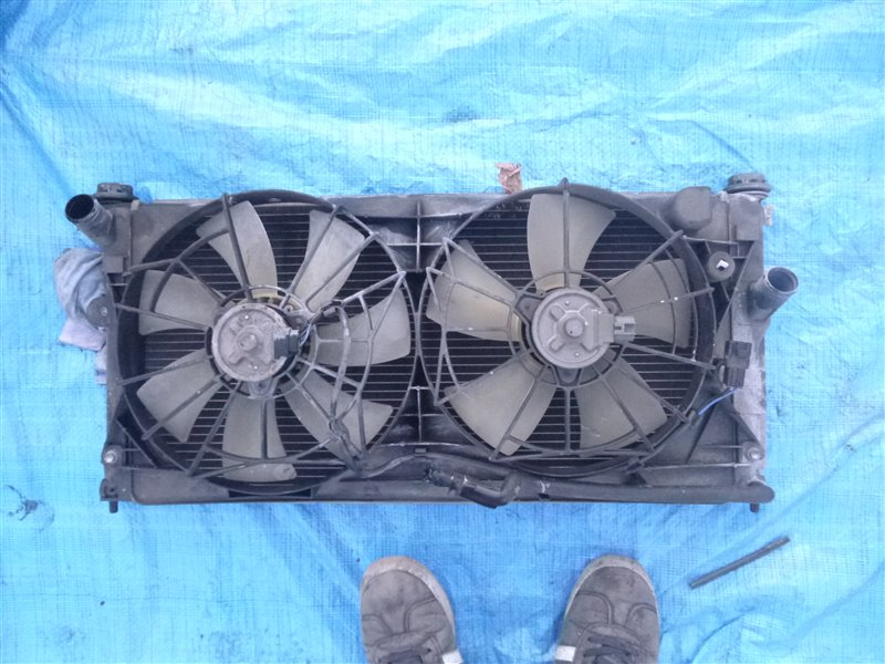 Радиатор двс Toyota Celica ZZT231 2ZZGE (б/у)