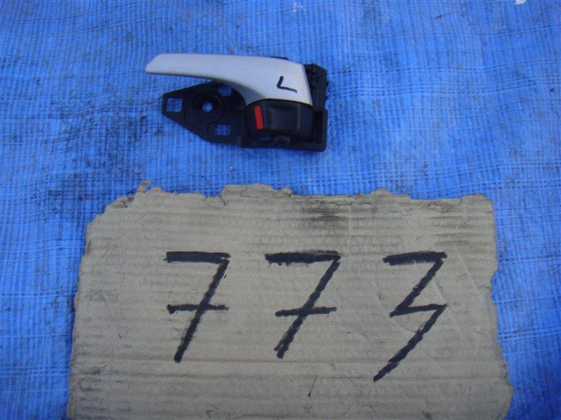 Ручка двери внутренняя Toyota Prius ZVW30 2ZRFXE 2009.11 левая (б/у)