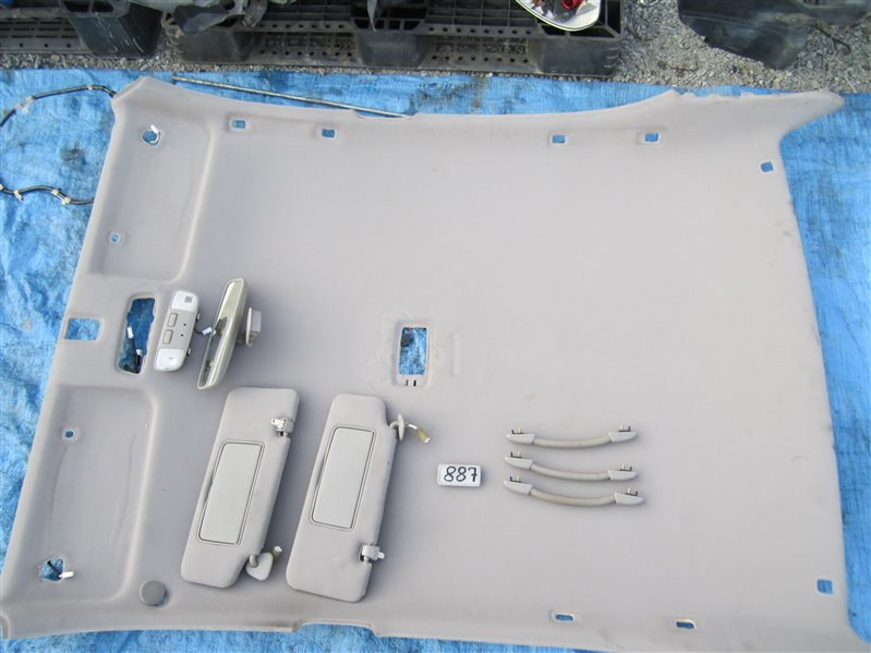 Обшивка потолка Toyota Verossa JZX110 1JZGTE 2001 (б/у)