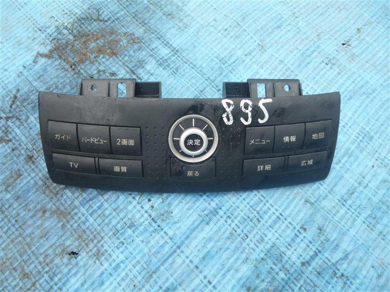 Блок управления навигацией Nissan Fairlady Z33 VQ35DE 2006 (б/у)
