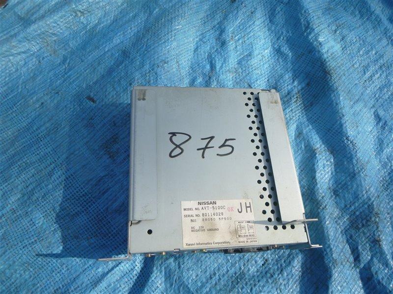 Усилитель магнитолы Nissan Gloria ENY33 RB25DET 1998 (б/у)