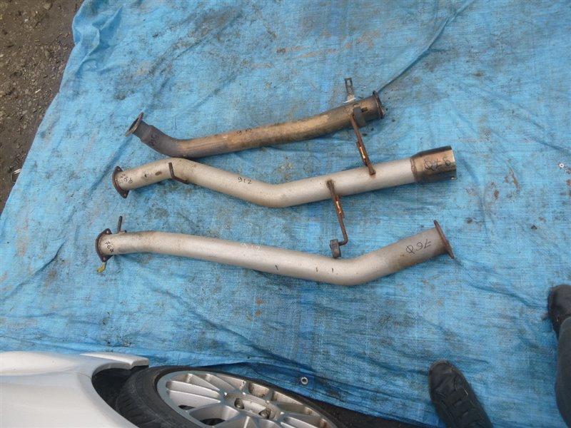 Глушитель Nissan Laurel GC35 RB25DE 1999 (б/у)