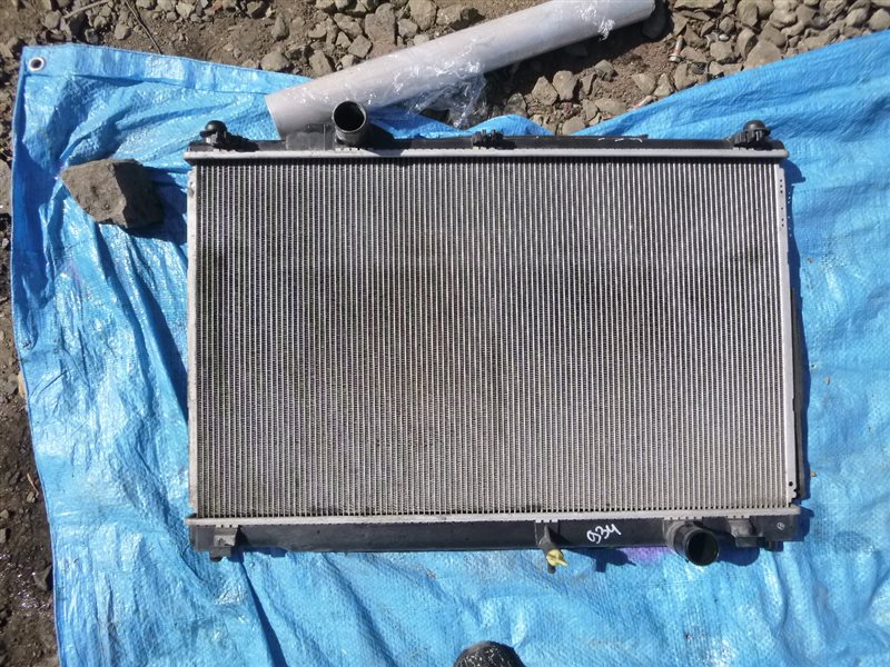 Радиатор двс Toyota Crown GWS204 2GRFSE 2011 (б/у)