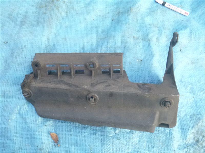 Защита бампера Lexus Ls460H USF40 1URFSE 2008 задняя левая (б/у)