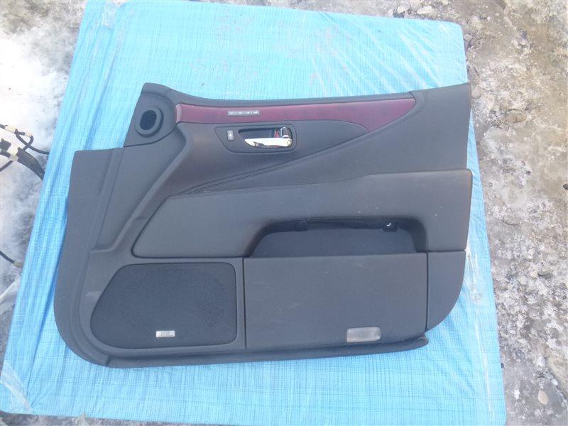 Обшивка двери Lexus Ls600Hl UVF45 2UR-FSE 2009 передняя правая (б/у)