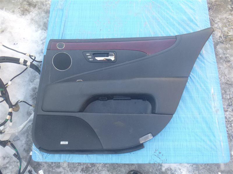 Обшивка двери Lexus Ls600Hl UVF45 2UR-FSE 2009 задняя правая (б/у)