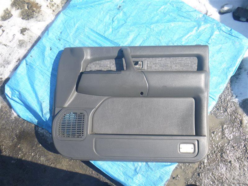 Обшивка двери Isuzu Bighorn UBS73GW 4JX1 2000 передняя правая (б/у)