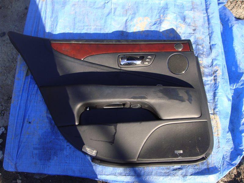 Обшивка двери Lexus Ls600Hl UVF46 2UR-FSE 2007 задняя левая (б/у)