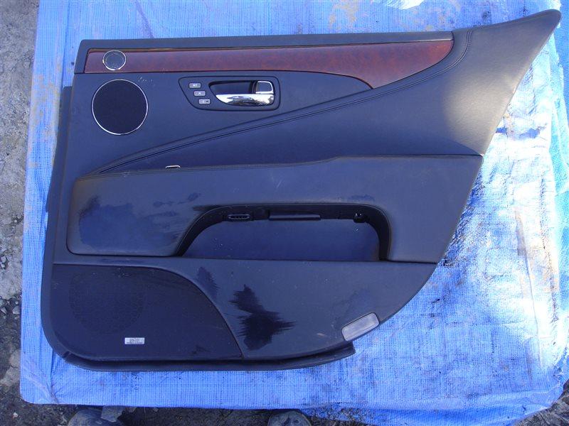 Обшивка двери Lexus Ls600Hl UVF46 2UR-FSE 2007 задняя правая (б/у)