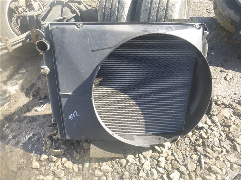 Радиатор двс Hino Dutro BZU300 1BZ 2008 (б/у)