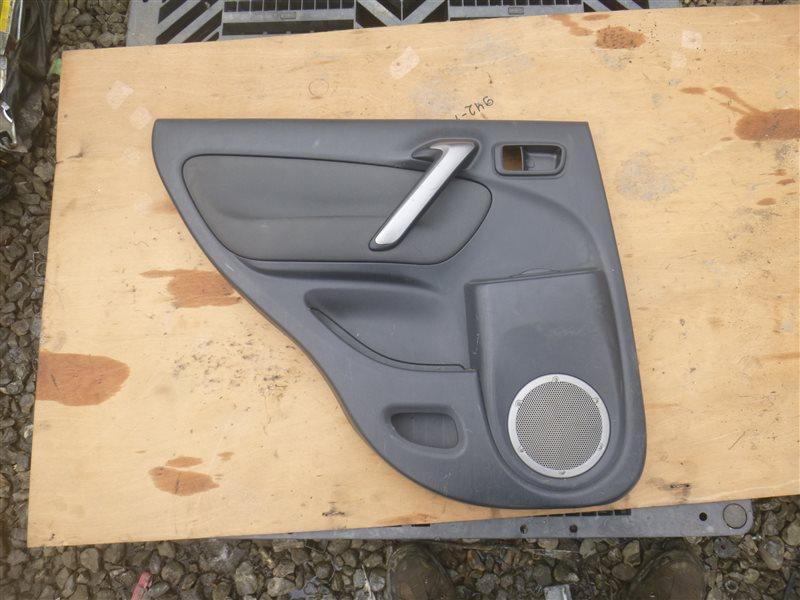 Обшивка двери Toyota Rav4 ACA21 2004 задняя левая (б/у)