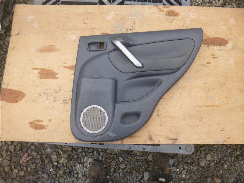 Обшивка двери Toyota Rav4 ACA21 2004 задняя правая (б/у)