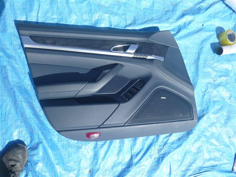 Обшивка двери Porsche Panamera M48.40 2010 передняя левая (б/у)