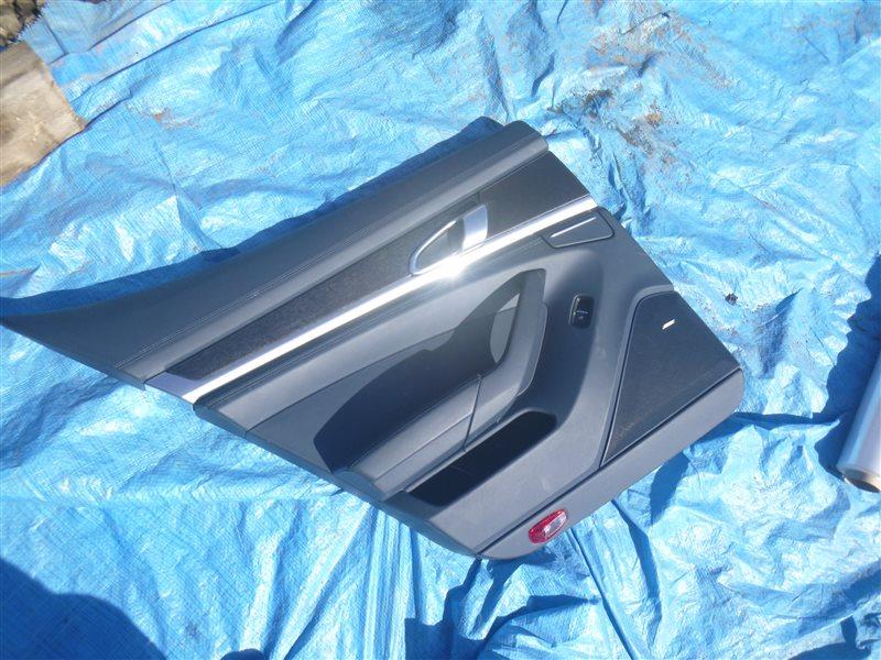 Обшивка двери Porsche Panamera M48.40 2010 задняя левая (б/у)