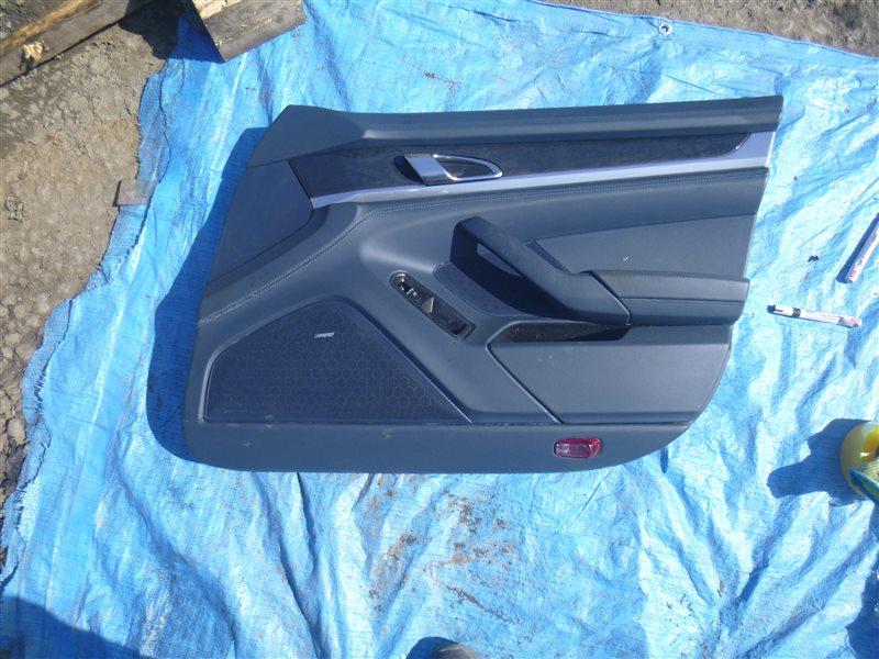 Обшивка двери Porsche Panamera M48.40 2010 передняя правая (б/у)