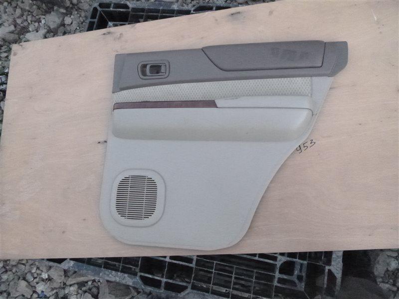 Обшивка двери Nissan Safari Y61 2002 задняя правая (б/у)