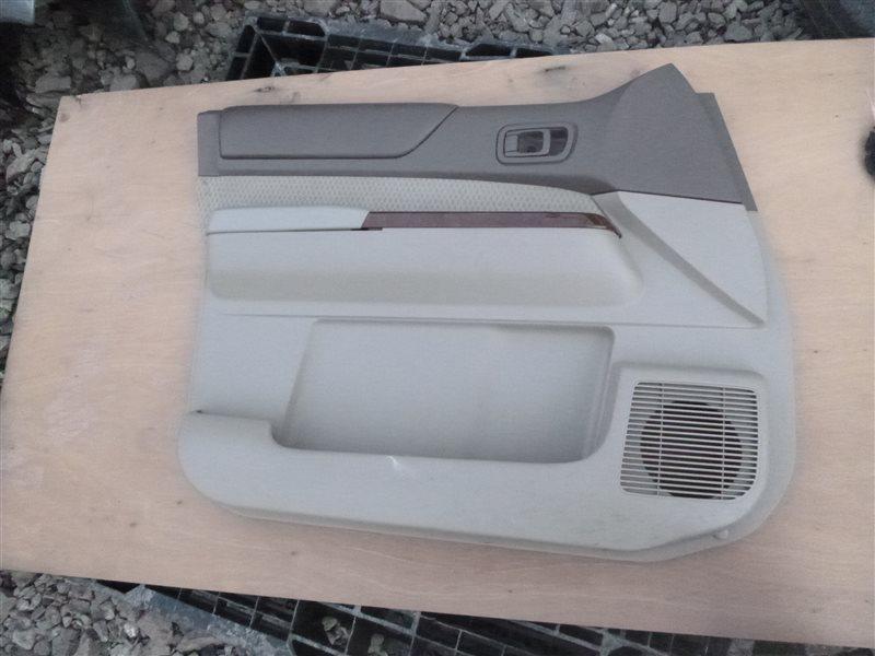 Обшивка двери Nissan Safari WFGY61 2002 передняя левая (б/у)