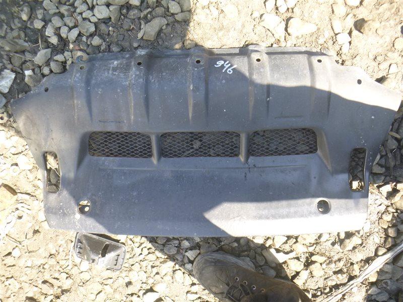 Защита бампера Mitsubishi Pajero V63W передняя (б/у)