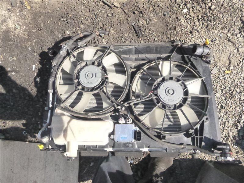 Радиатор двс Toyota Harrier GSU35 2GRFE 2007 (б/у)