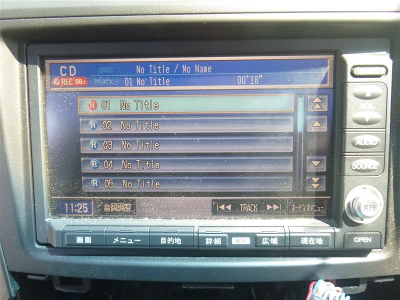Магнитола Honda Cr-V RE4 2007 (б/у)