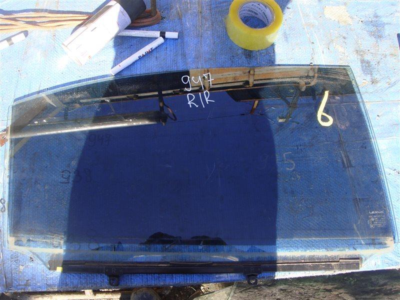 Стекло двери Lexus Ls600Hl UVF46 2UR-FSE 2007 заднее правое (б/у)