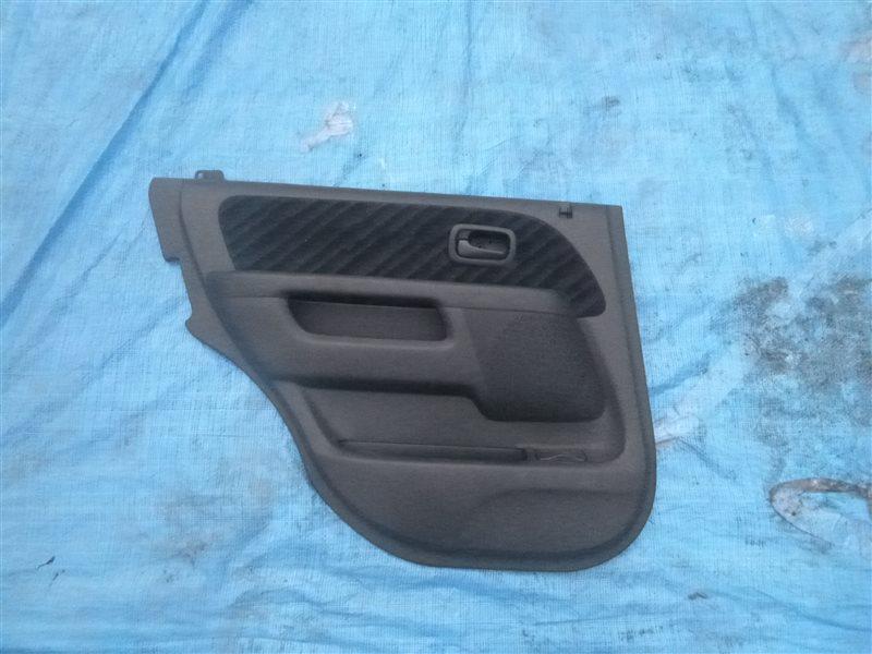 Обшивка двери Honda Cr-V RD4 задняя левая (б/у)