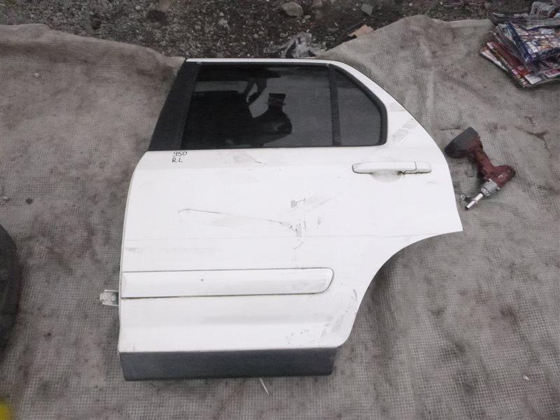 Дверь Honda Cr-V RD4 K20A задняя левая (б/у)