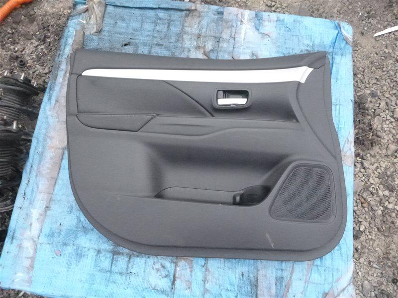 Обшивка двери Mitsubishi Outlander GG2W 4B11 2013 передняя левая (б/у)