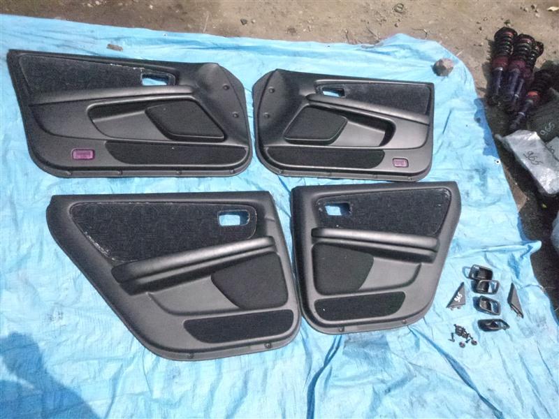 Обшивка двери Toyota Chaser JZX100 1998 (б/у)