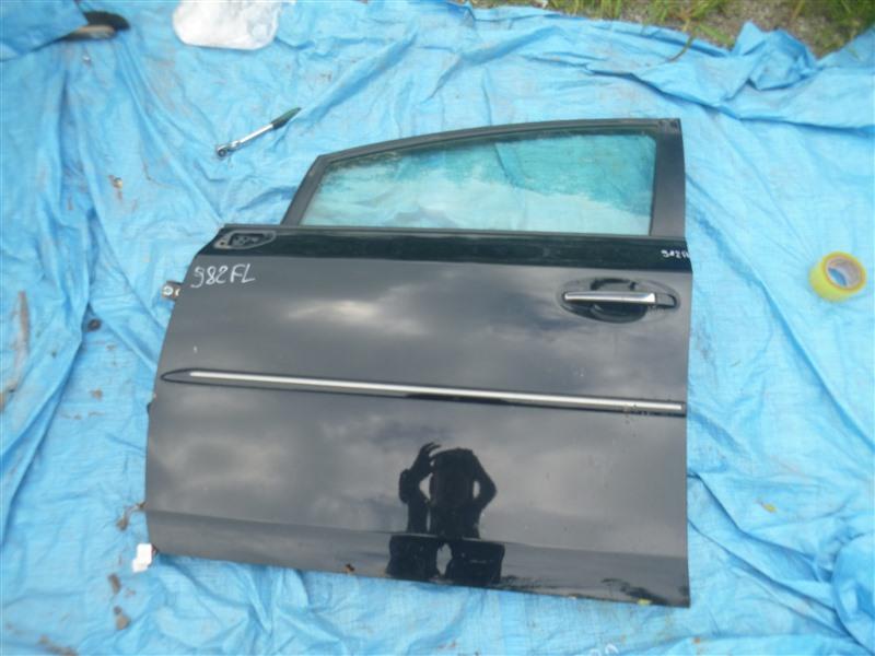 Дверь Toyota Prius Alpha ZVW41 2ZRFXE 2011 передняя левая (б/у)