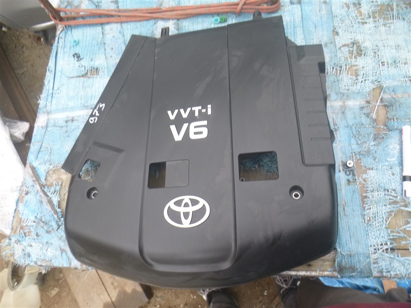 Декоративная крышка двс Toyota Land Cruiser Prado GRN210 1GRFE 2005 (б/у)