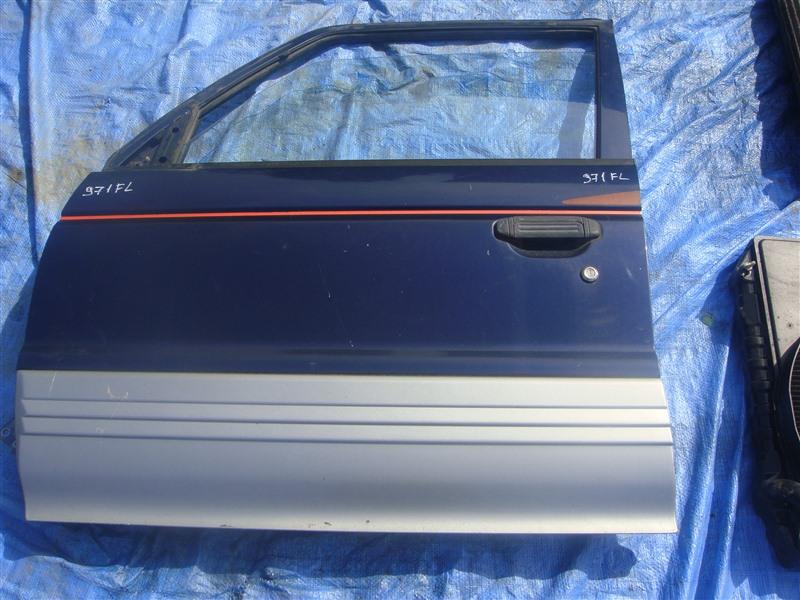 Дверь Mitsubishi Pajero V21W 1996 левая (б/у)