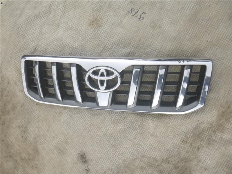 Решетка радиатора Toyota Land Cruiser Prado GRJ120 2005 (б/у)