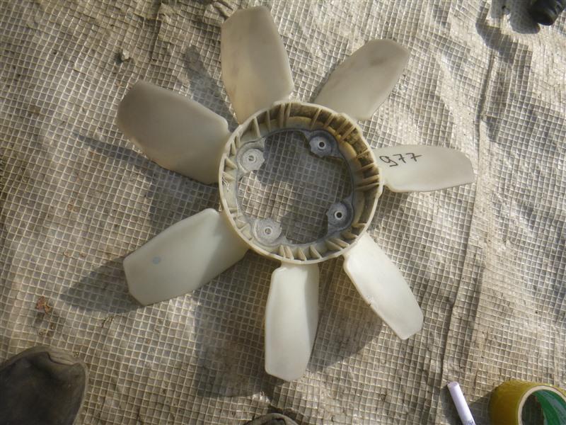 Вентилятор вязкомуфты Toyota 4Runner GRN210 1GRFE 2005 (б/у)