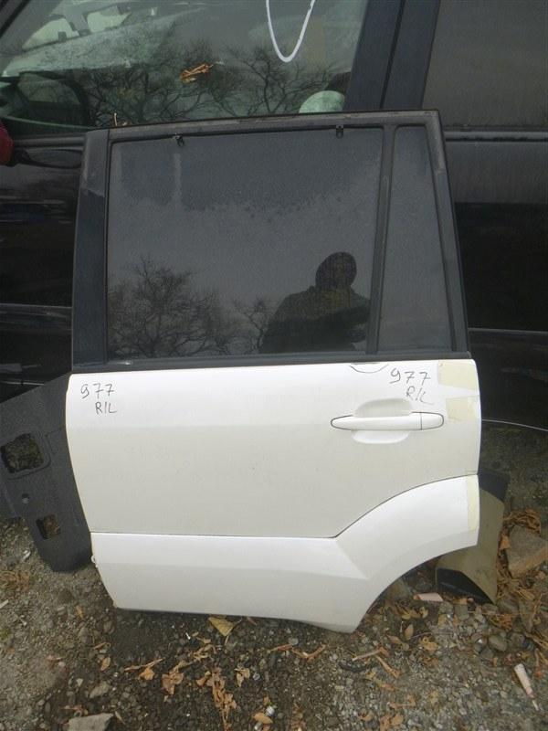 Дверь Toyota Land Cruiser Prado GRJ120 2005 задняя левая (б/у)