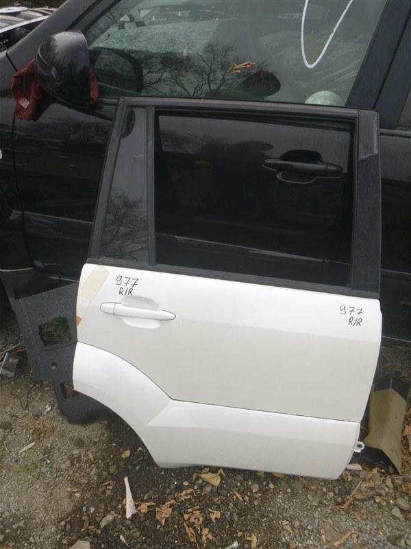 Дверь Toyota Land Cruiser Prado GRJ120 1GRFE 2005 задняя правая (б/у)