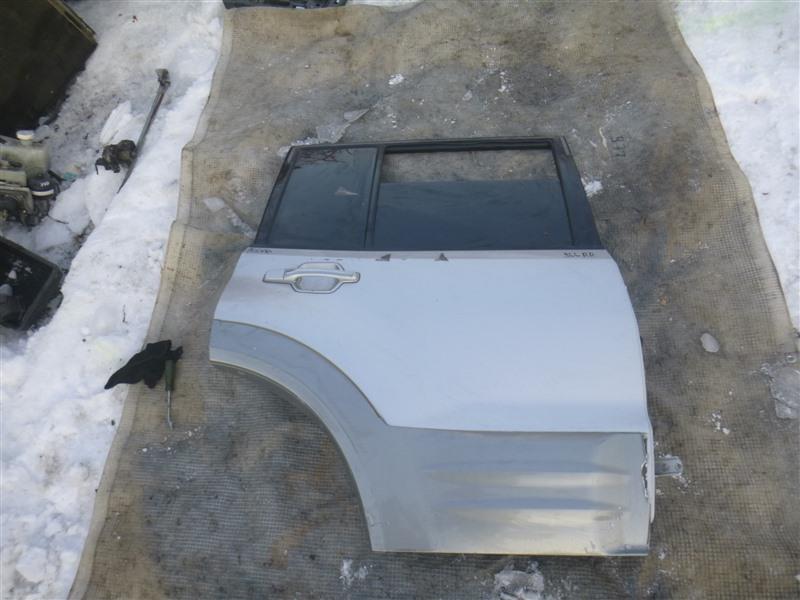 Дверь Mitsubishi Pajero V73W 1999 задняя правая (б/у)