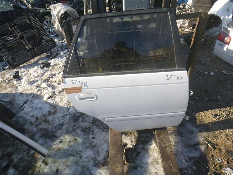 Дверь Toyota Caldina ST215 3SGE 1999 задняя правая (б/у)