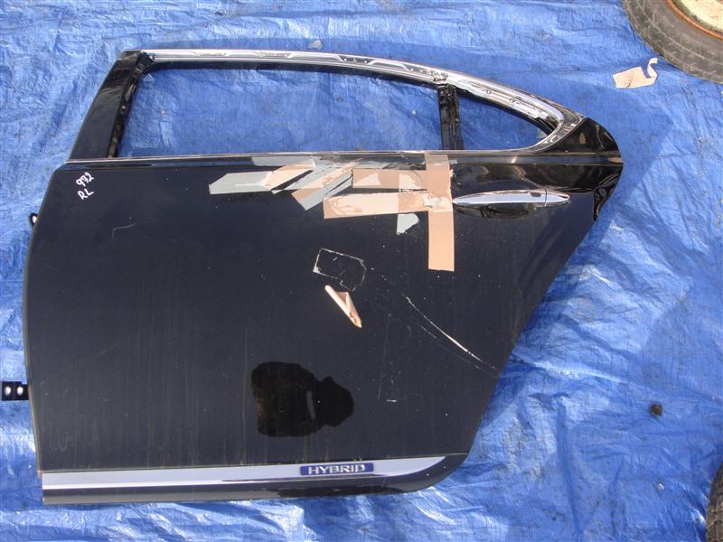 Дверь Lexus Ls600Hl UVF46 2URFSE 2007 задняя левая (б/у)