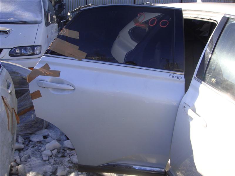 Дверь Lexus Rx450H GYL16 2GRFXE 2010 задняя правая (б/у)
