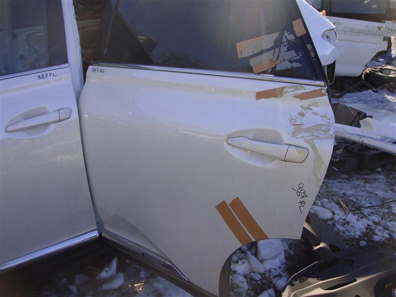 Дверь Lexus Rx450H GYL16 2GRFXE 2010 задняя левая (б/у)