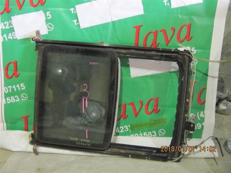 Люк Toyota Alphard ANH15 2AZ-FE 2002 задний (б/у) ЗАДНИИ, В СБОРЕ.ЭЛЕКТРИЧЕСКИЙ. СДВИЖНОЙ