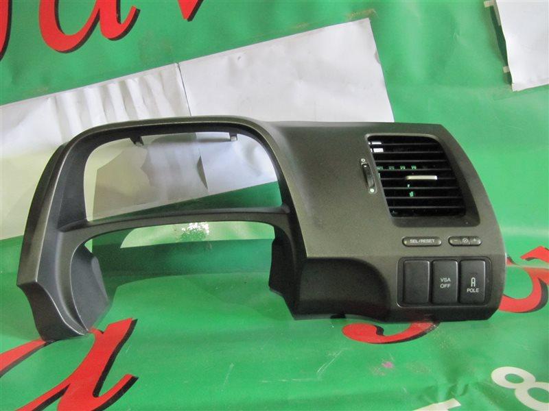 Консоль под щиток приборов Honda Civic FD2 K20A 2006 (б/у) После фото упаковано.