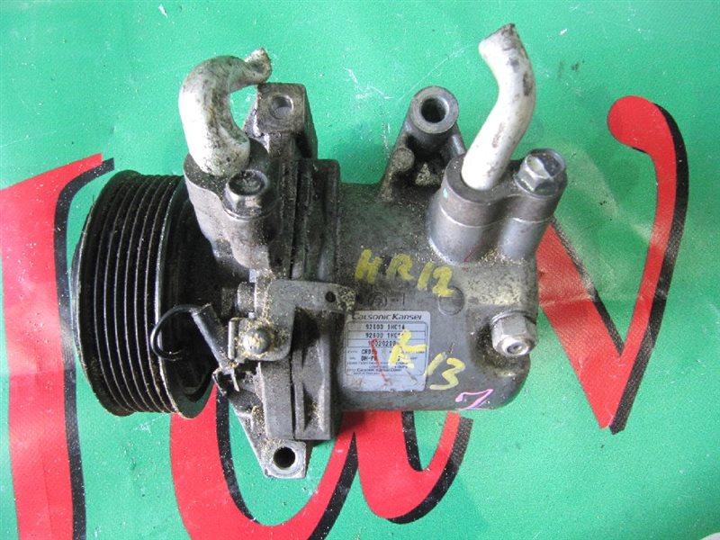 Компрессор кондиционера Nissan March K13 HR12DE 2012 (б/у) 926001HC1A