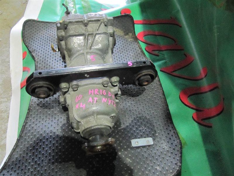 Редуктор Nissan Wingroad NY12 HR16DE 2012 задний (б/у) +ПОДУШКИ.  А/Т.
