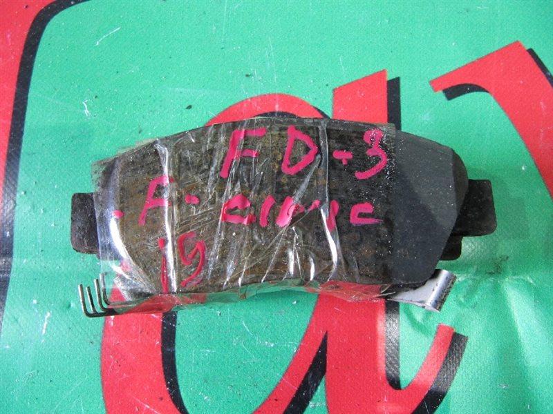 Колодки тормозные Honda Civic FD3 LDA 2006 передние (б/у)